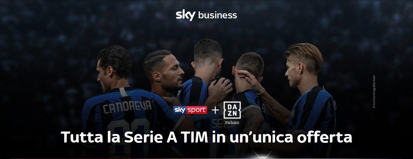 Sky Sport Business 2019/2020, con tutta la Serie A TIM nei locali pubblici