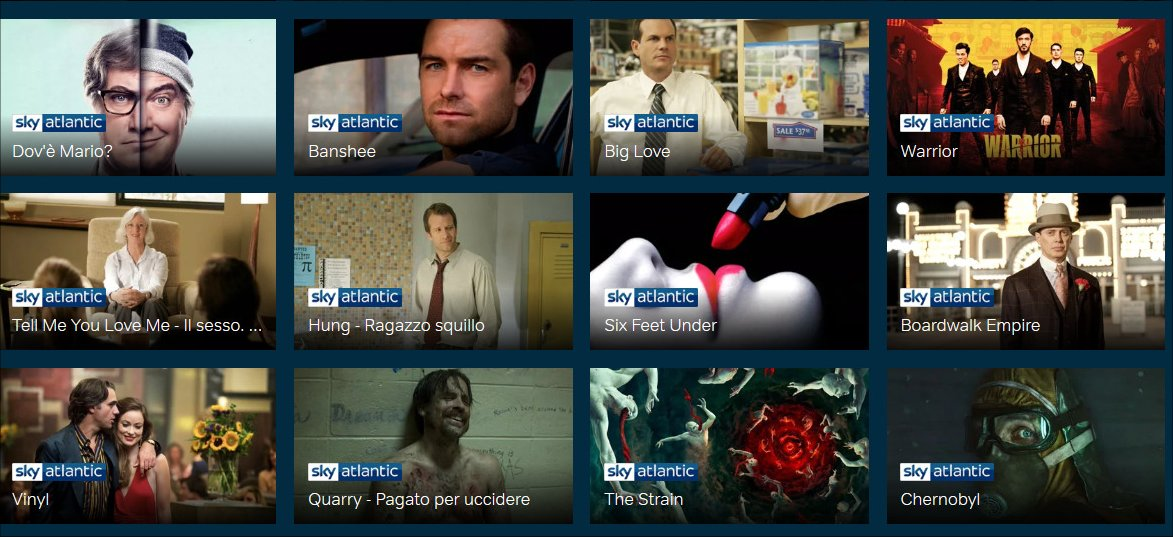 NOW TV, 4 mesi gratuiti ticket Serie TV con Vodafone Happy Friday