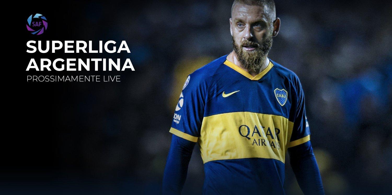 SuperLiga Argentina su Eleven Sport, in diretta De Rossi, Maradona e Tevez