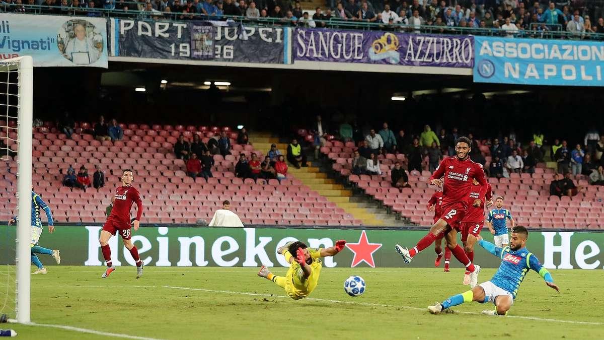 Napoli - Liverpool su Canale 5, la Champions in chiaro torna a Mediaset