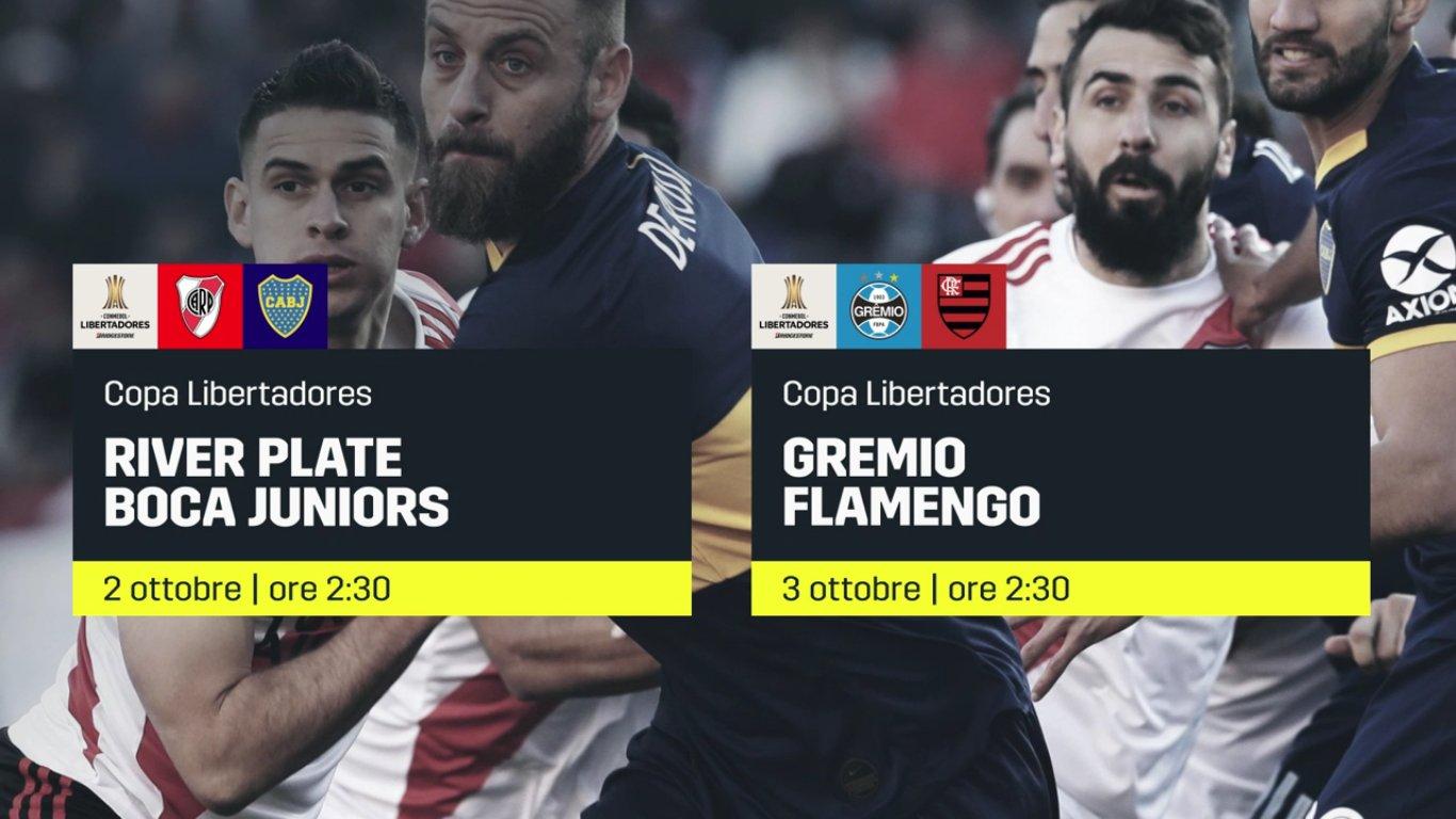 River Plate e Boca Juniors si sfidano in Copa Libertadores, diretta su DAZN