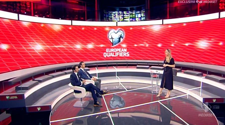 Qualificazioni Euro 2020, tre partite in diretta su Mediaset Canale 20