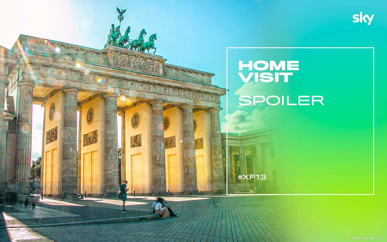 #XF13 - Home Visit, a Berlino (Sky Uno e NOW TV) si formano le squadre