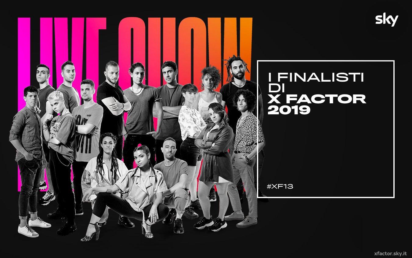 #XF13, Scelti i 12 concorrenti. Da Giovedi 24 Ottobre i live show su Sky Uno