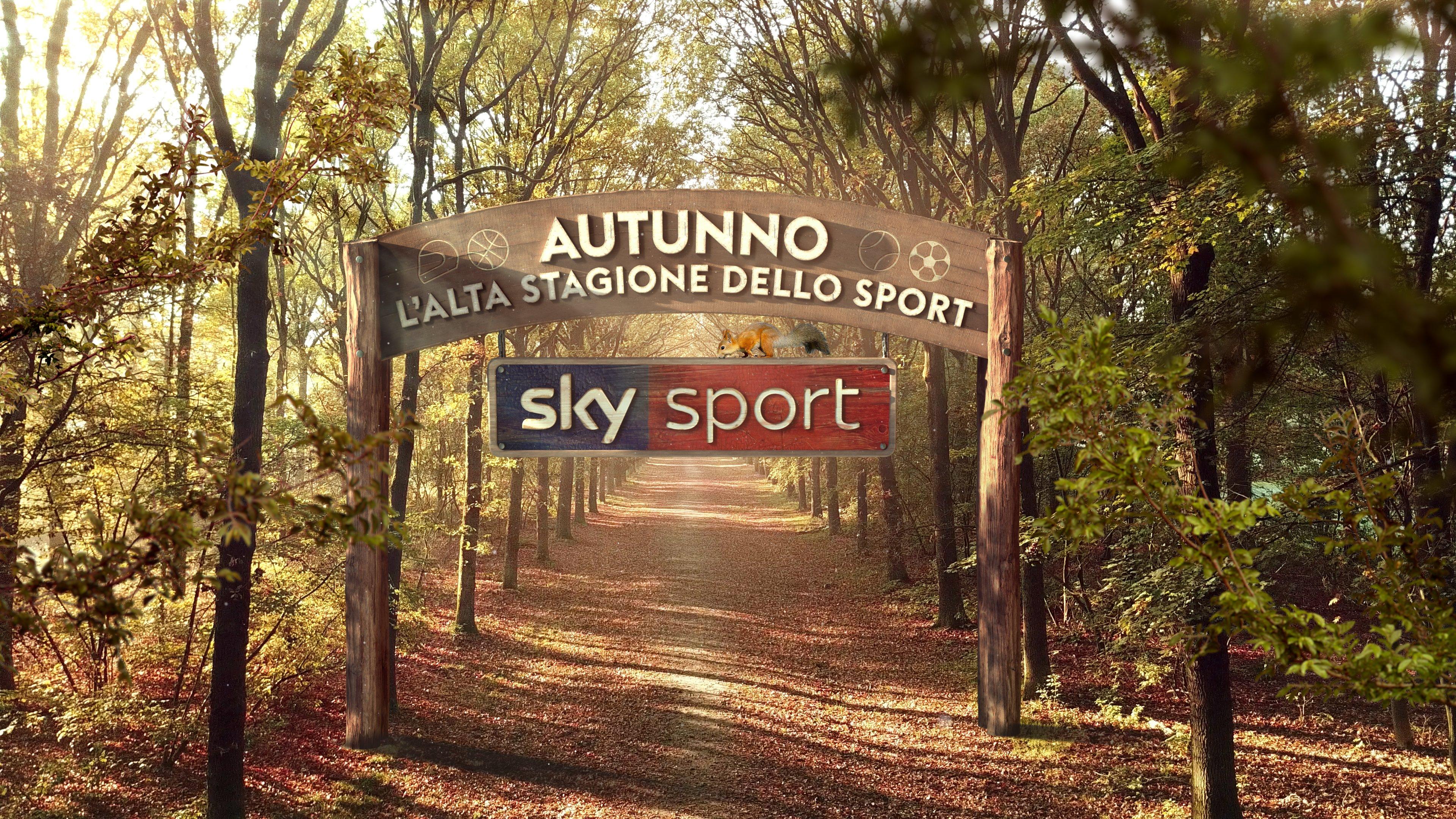 Autunno, alta stagione dello sport su Sky con cinque grandi weekend