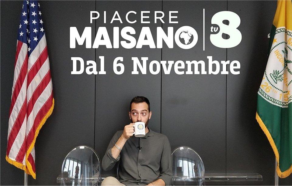 Piacere Maisano, la nuova produzione originale su TV8