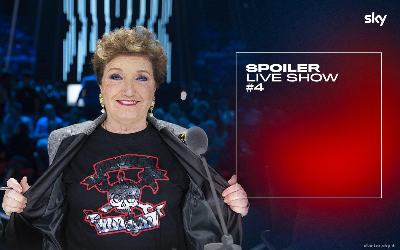 #XF13 - Quarto live show Sky Uno e NOW TV. Ospite Gianna Nannini e Mabel