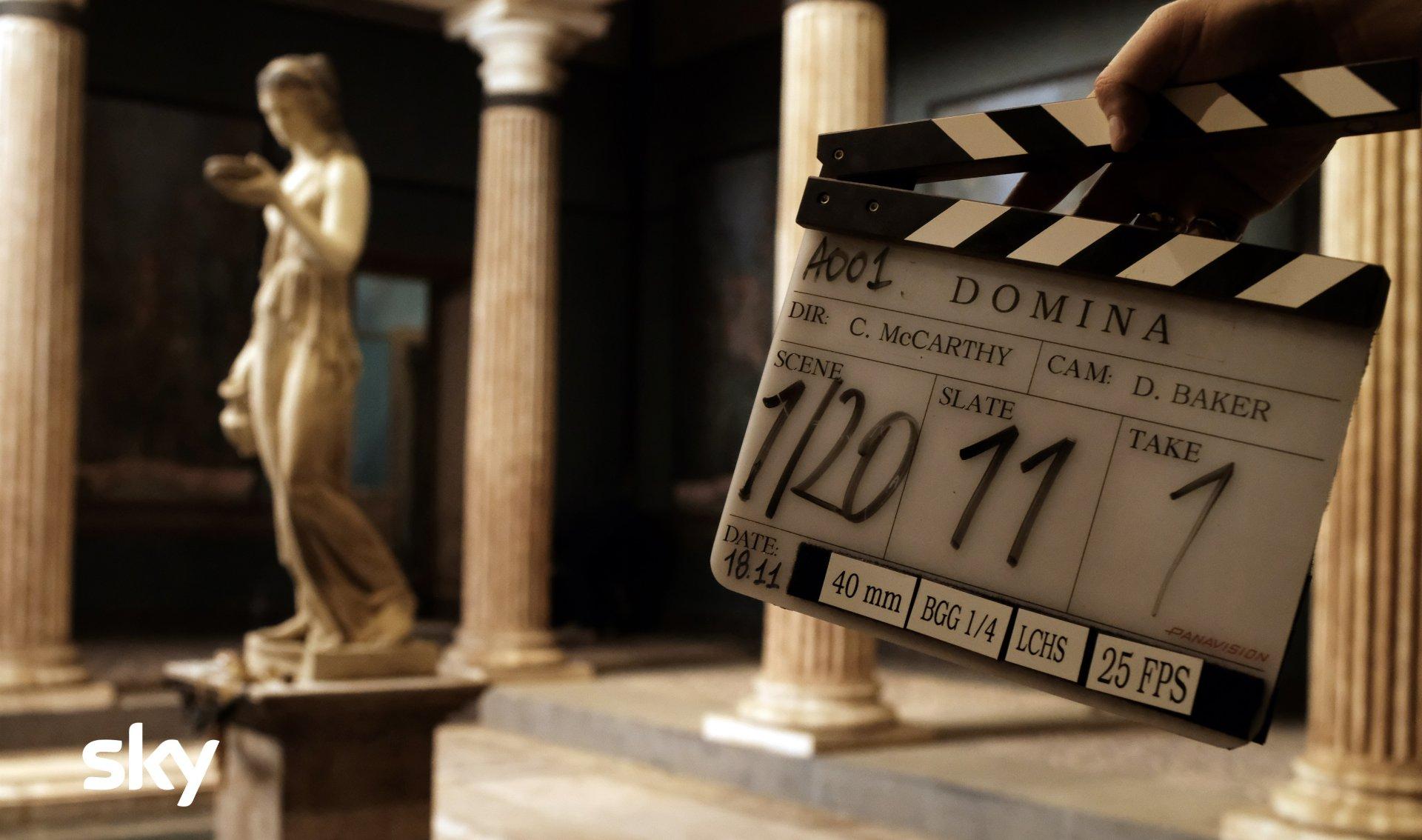 Domina, la nuova serie Sky Original con antica Roma dalla prospettiva delle donne
