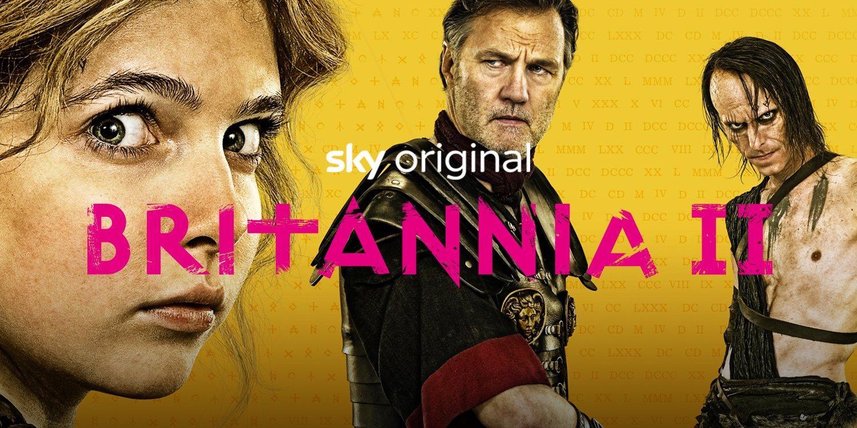 Britannia II, su Sky Atlantic e NOW TV nuova stagione del drama storico a tinte fantasy
