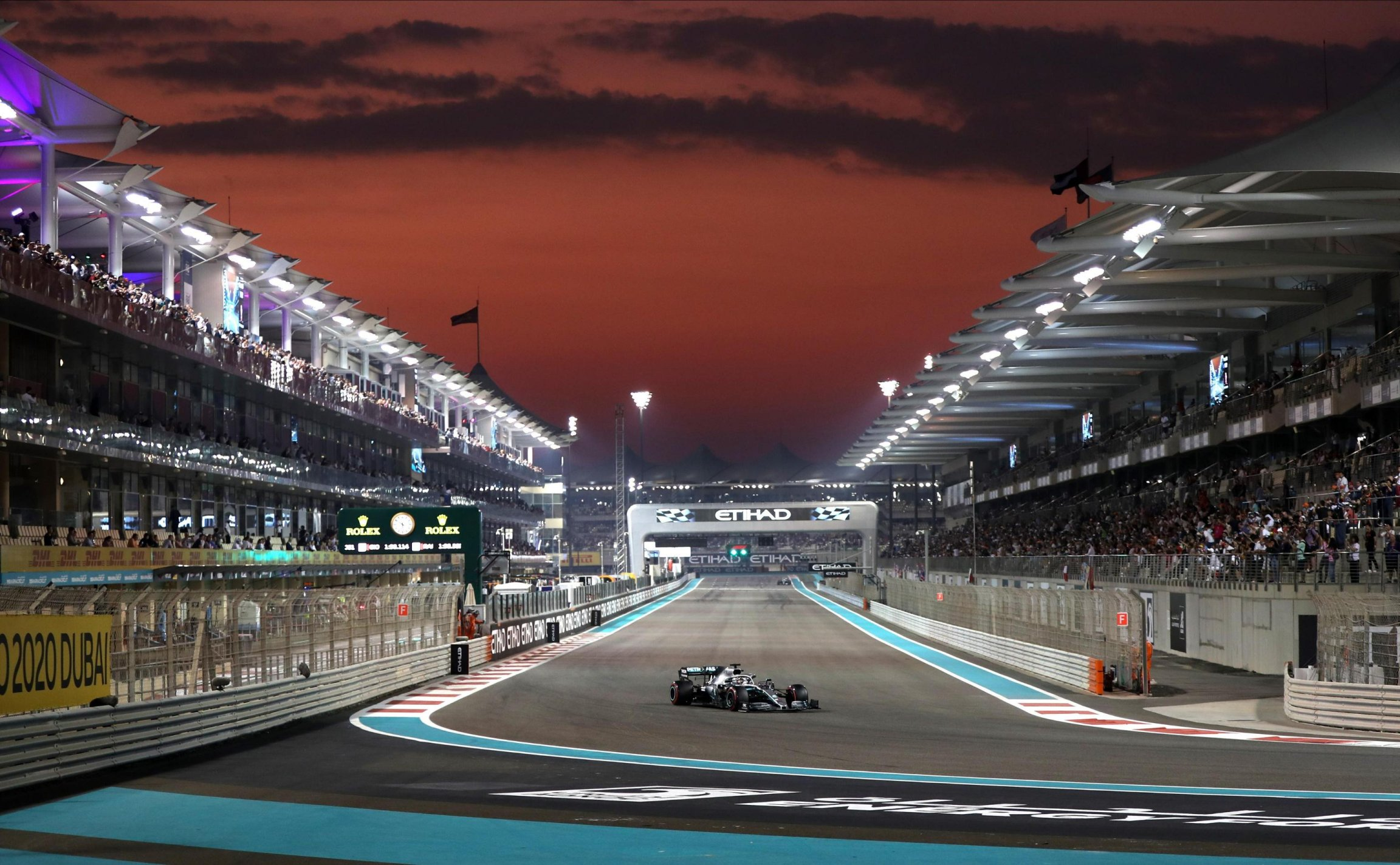 F1 Abu Dhabi 2019, Gara - Diretta Sky Sport e TV8