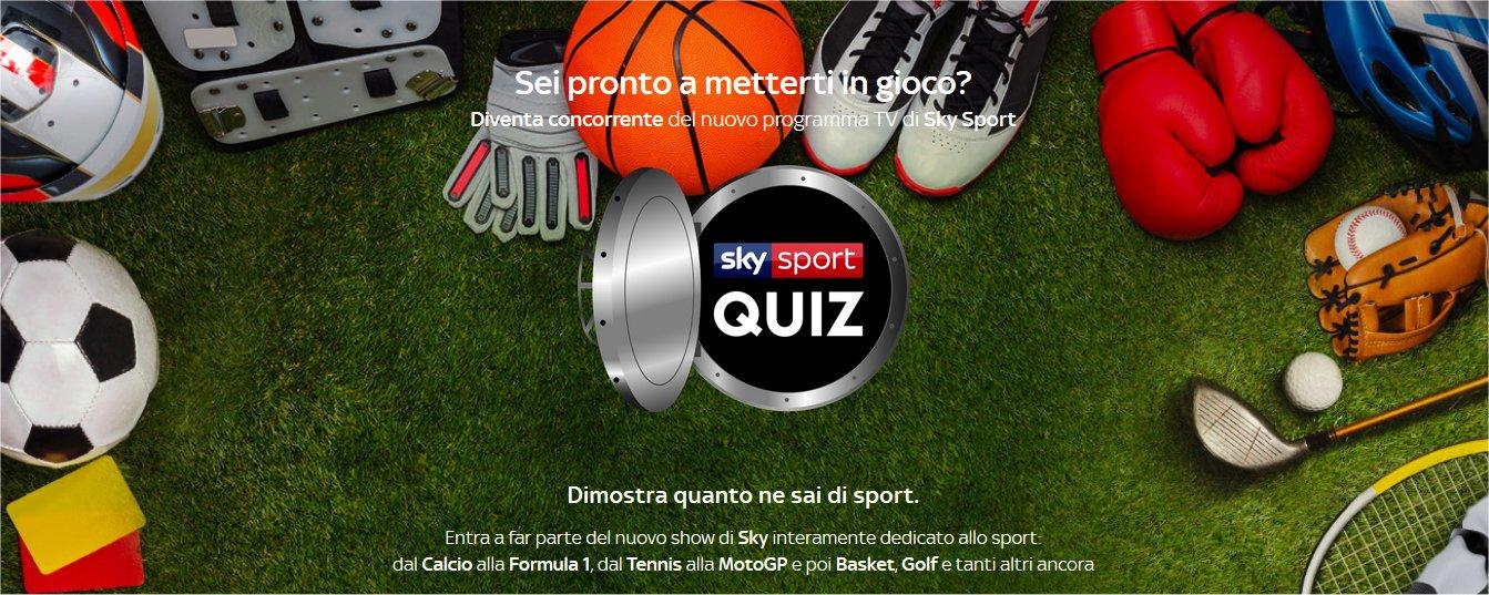Sky Sport Quiz, aperti i casting per il primo quiz sportivo nella storia di Sky