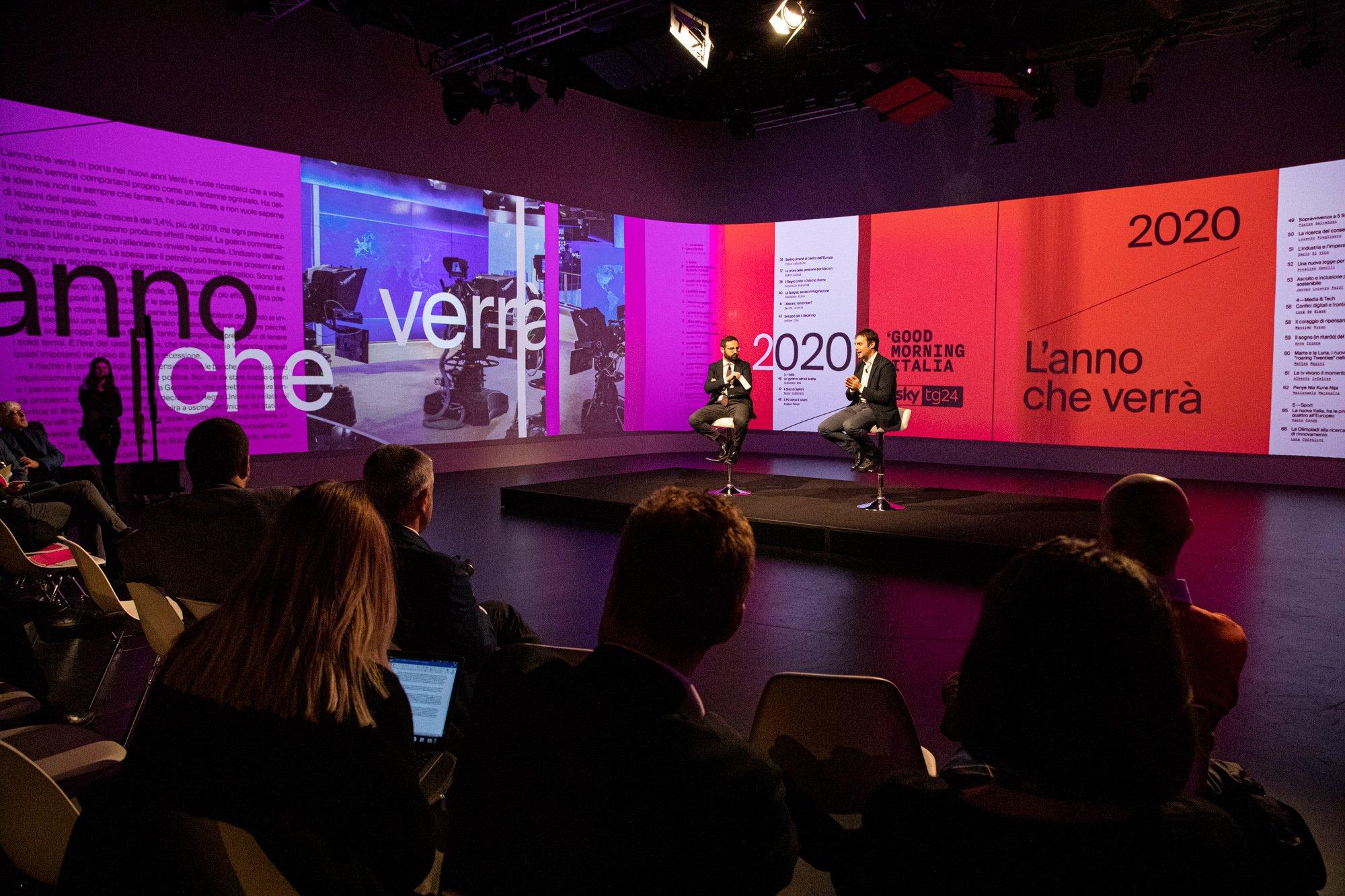 Un libro per scoprire il 2020, Sky TG24 è media partner del progetto