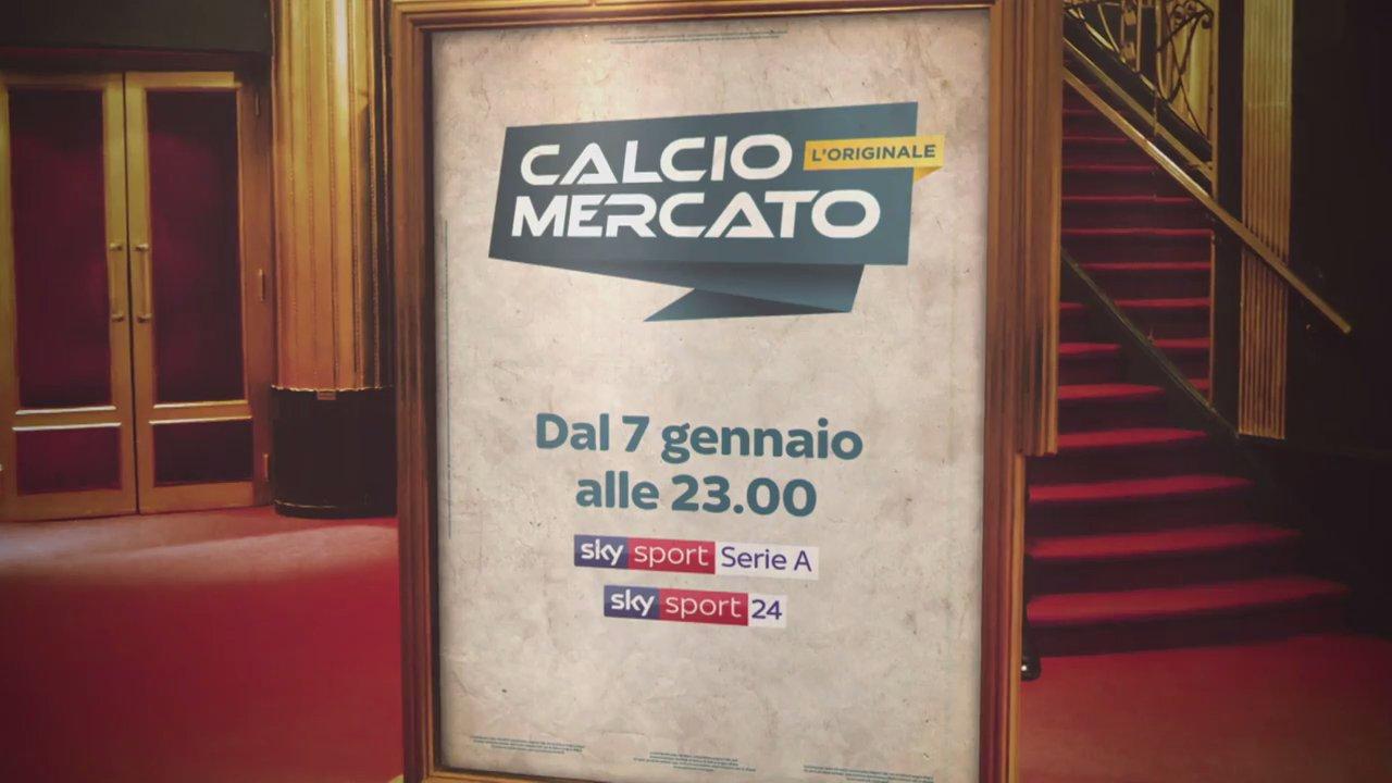 CalcioMercato - L'originale torna dal 7 Gennaio su Sky Sport