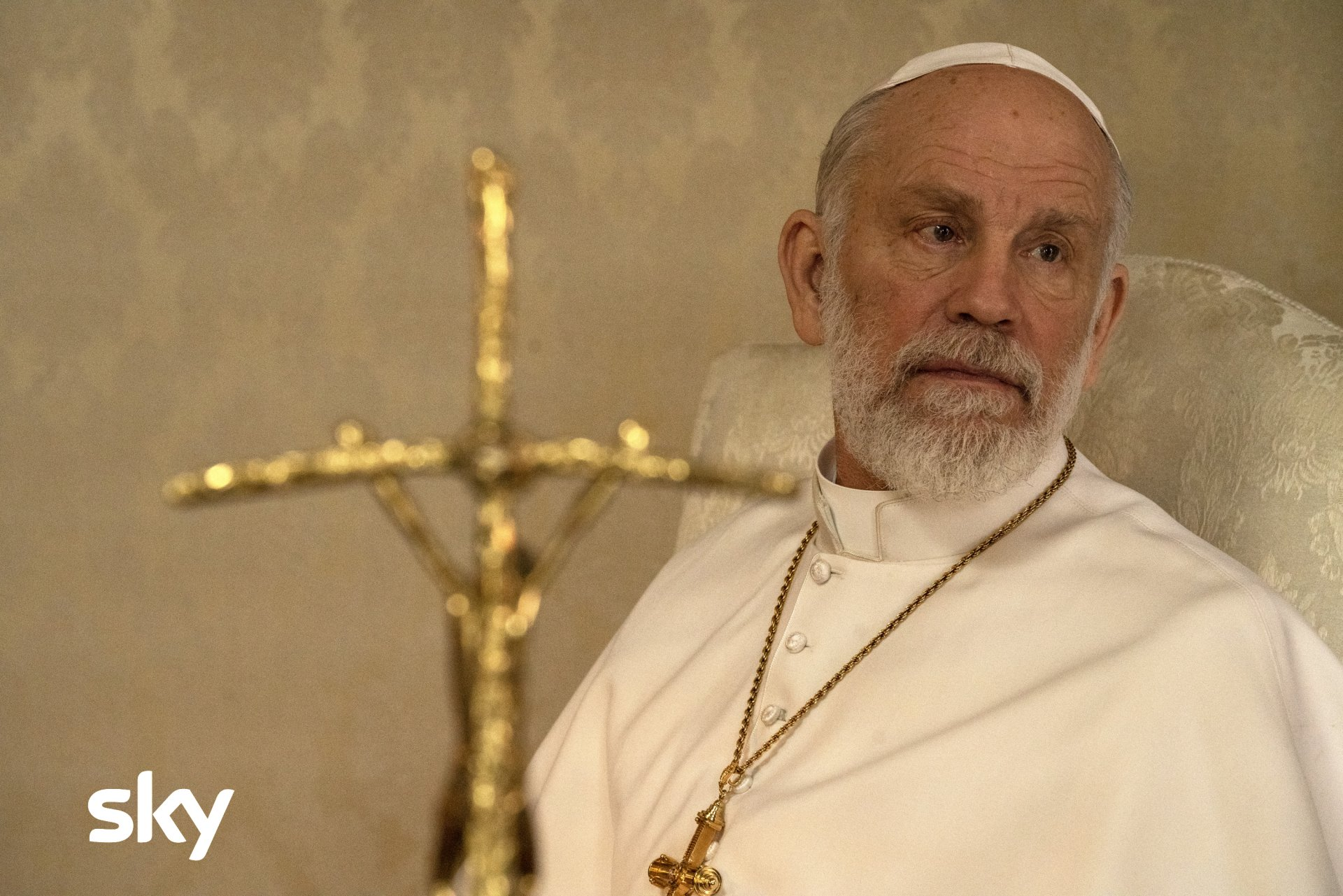 The New Pope, stasera terzo e quarto episodio su Sky (in 4K HDR) e NOW TV