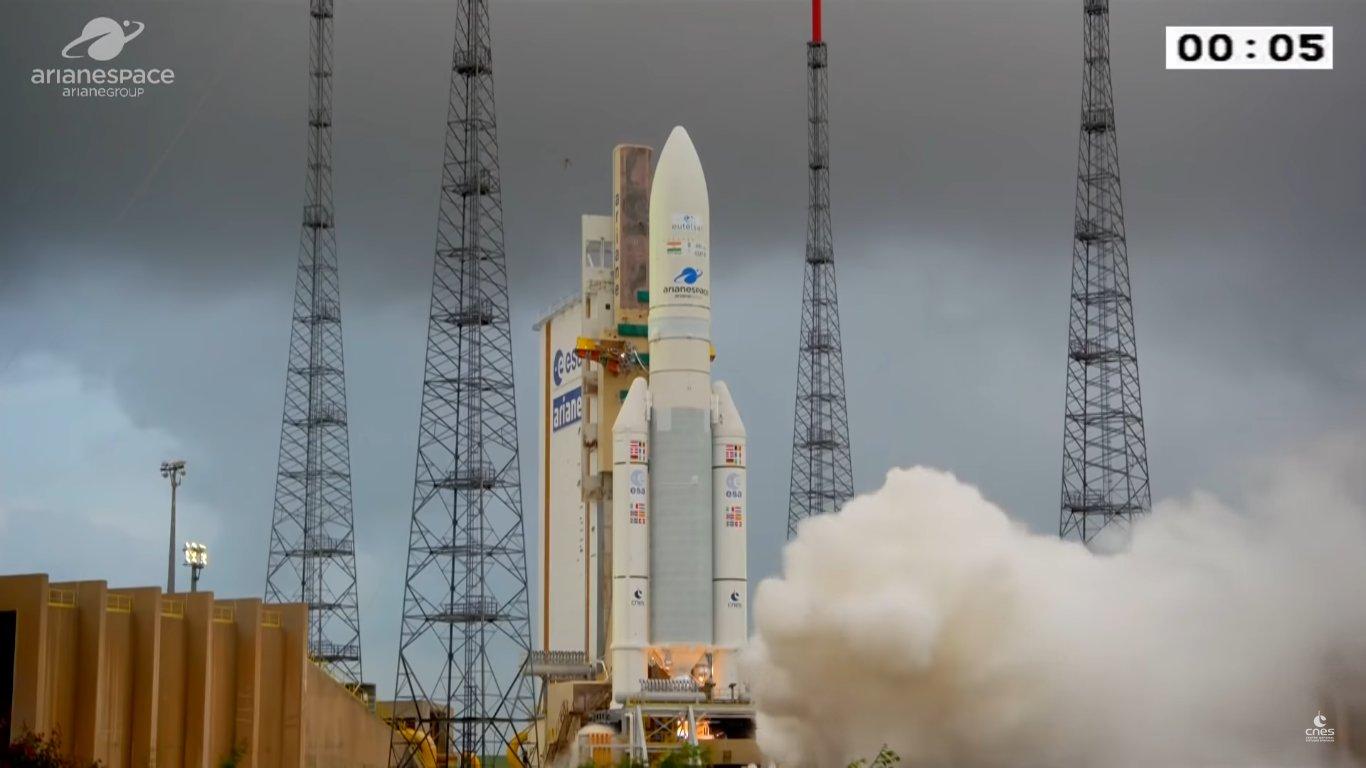 Lanciato con successo il satellite EutelSat Konnect