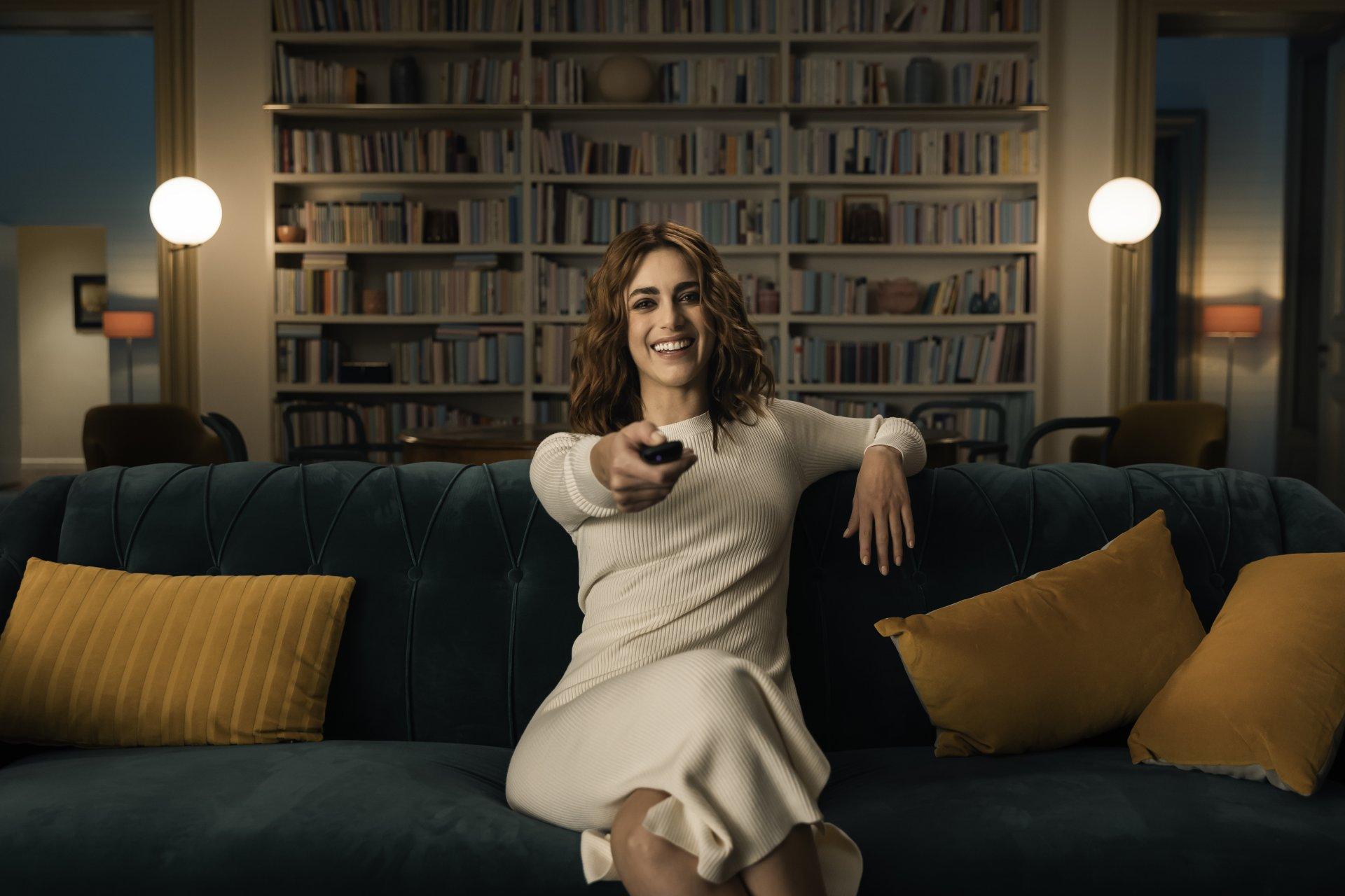 «NOW TV, la tv come sei tu», la nuova campagna con Miriam Leone