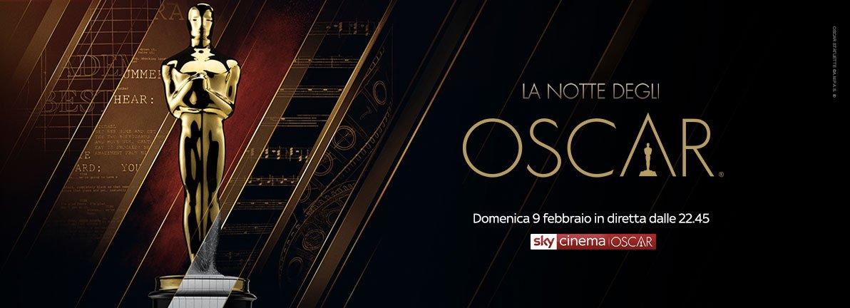 La Notte degli Oscar 2020 - diretta Sky Cinema, Sky Uno e TV8