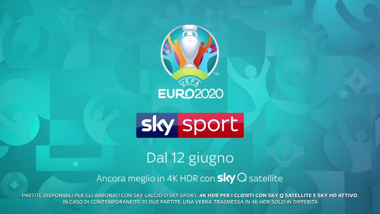 Euro 2020, -100 giorni agli Europei. Tutte le partite in 4K HDR su Sky Sport