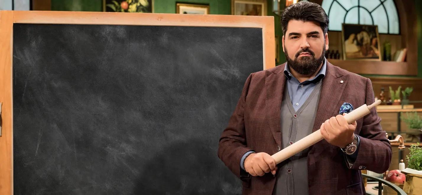 Antonino Chef Academy arriva in chiaro su TV8 tra formazione e sfide