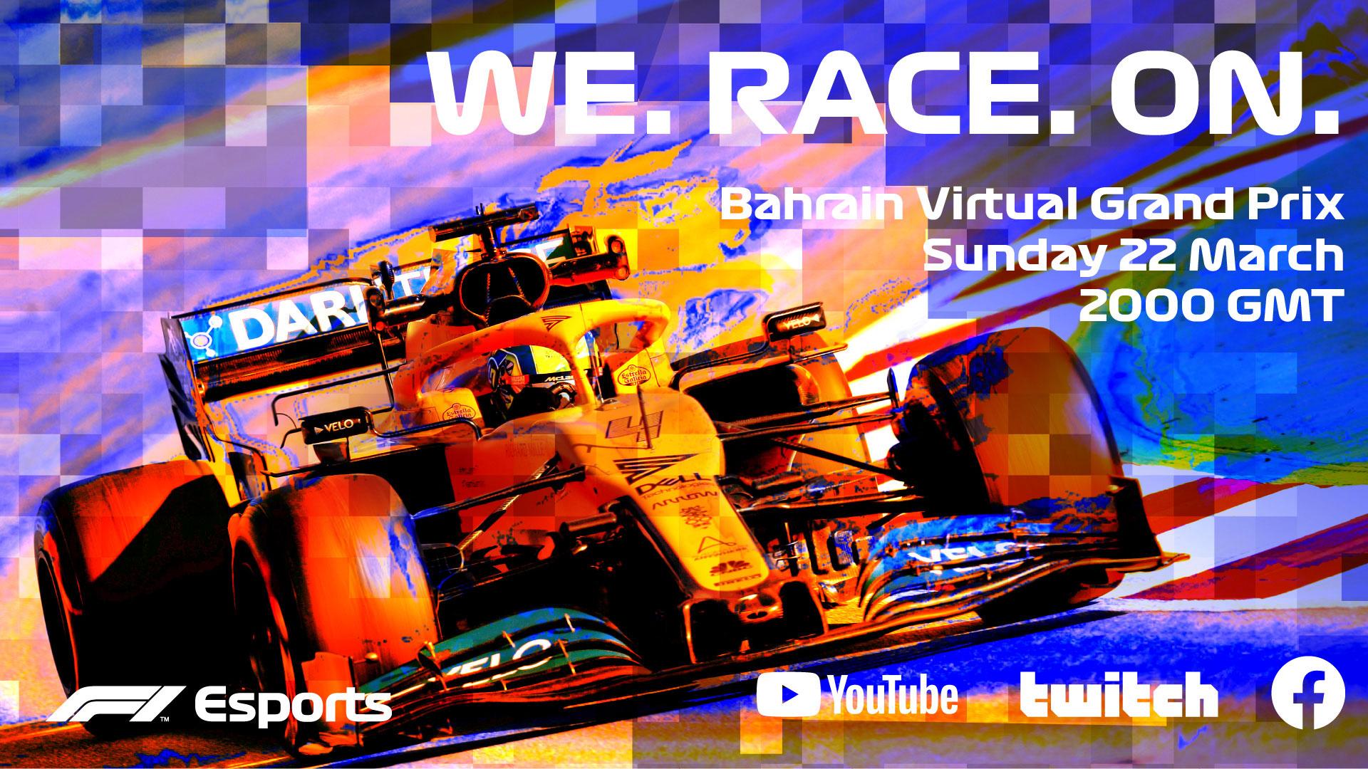 eSports Bahrain Grand Prix 2020, la F1 virtuale in diretta su Sky Sport