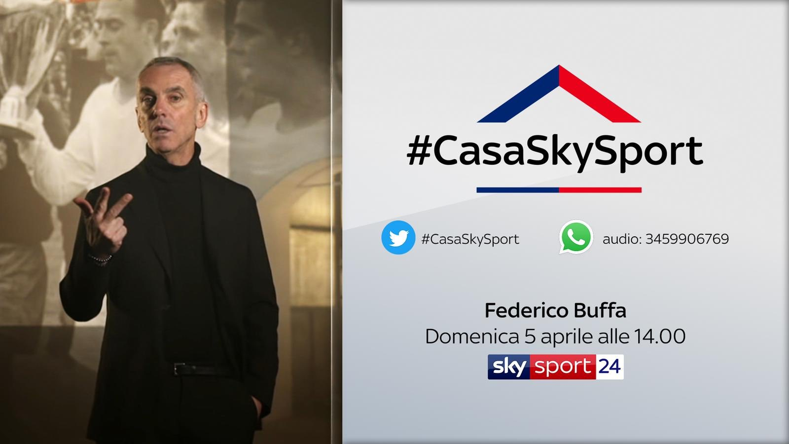 Federico Buffa risponde alle domande a #CasaSkySport