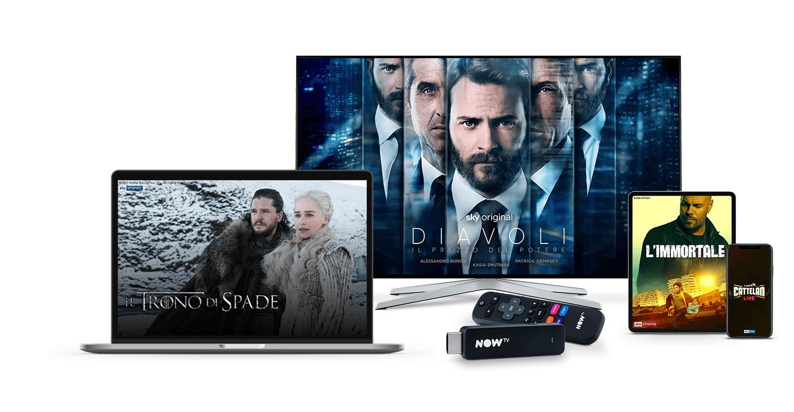 NOW TV rinnova offerta e listino prezzi. Arrivano Pass Entertainment e Kids
