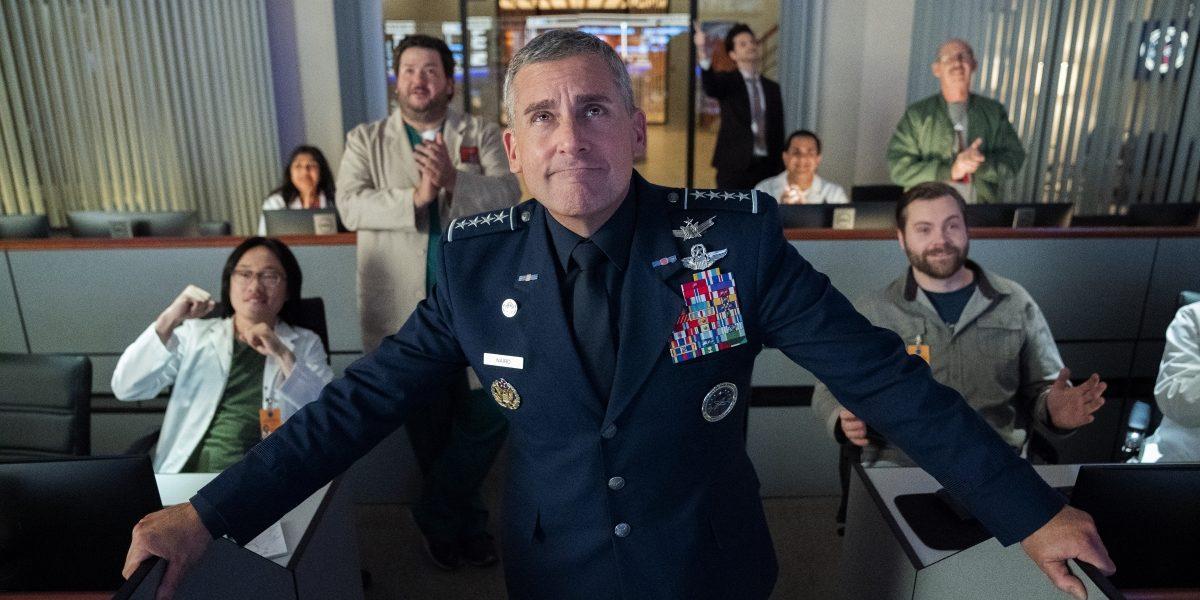 «Space Force» la nuova serie Netflix opera di Steve Carell e Greg Daniels