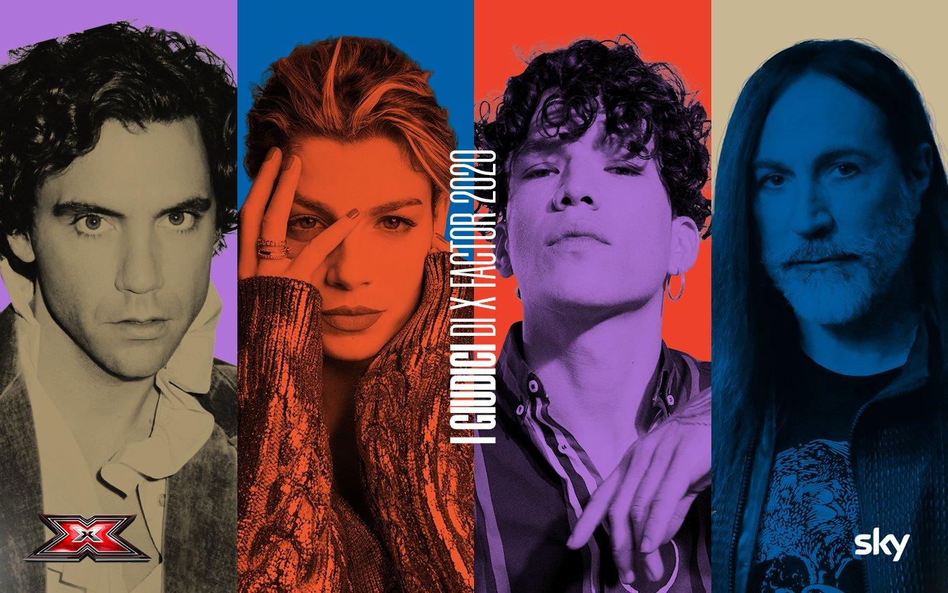 Sky | Emma, Hell Raton, Manuel Agnelli, Mika sono i giudici X Factor 2020