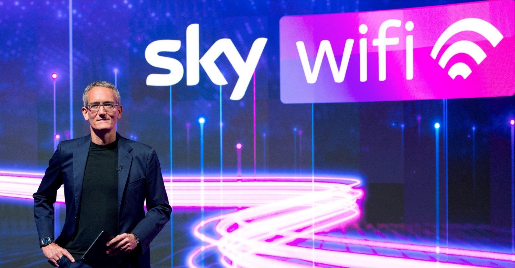 Nasce Sky WiFi, la fibra di Sky che cambia il mondo della connettività