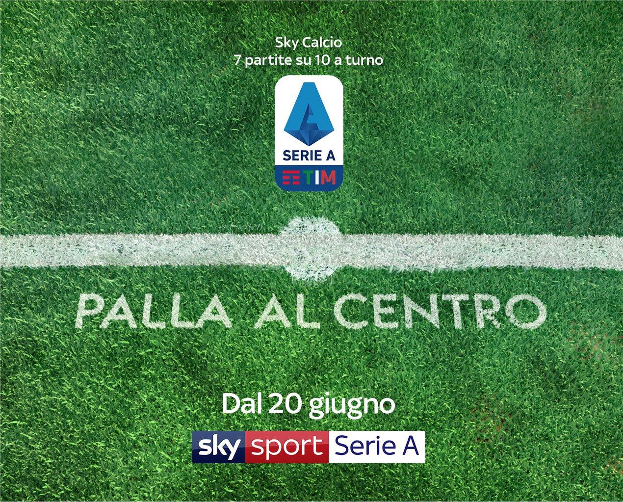 Sky Sport, due settimane di calcio no stop, con almeno una partita ogni sera