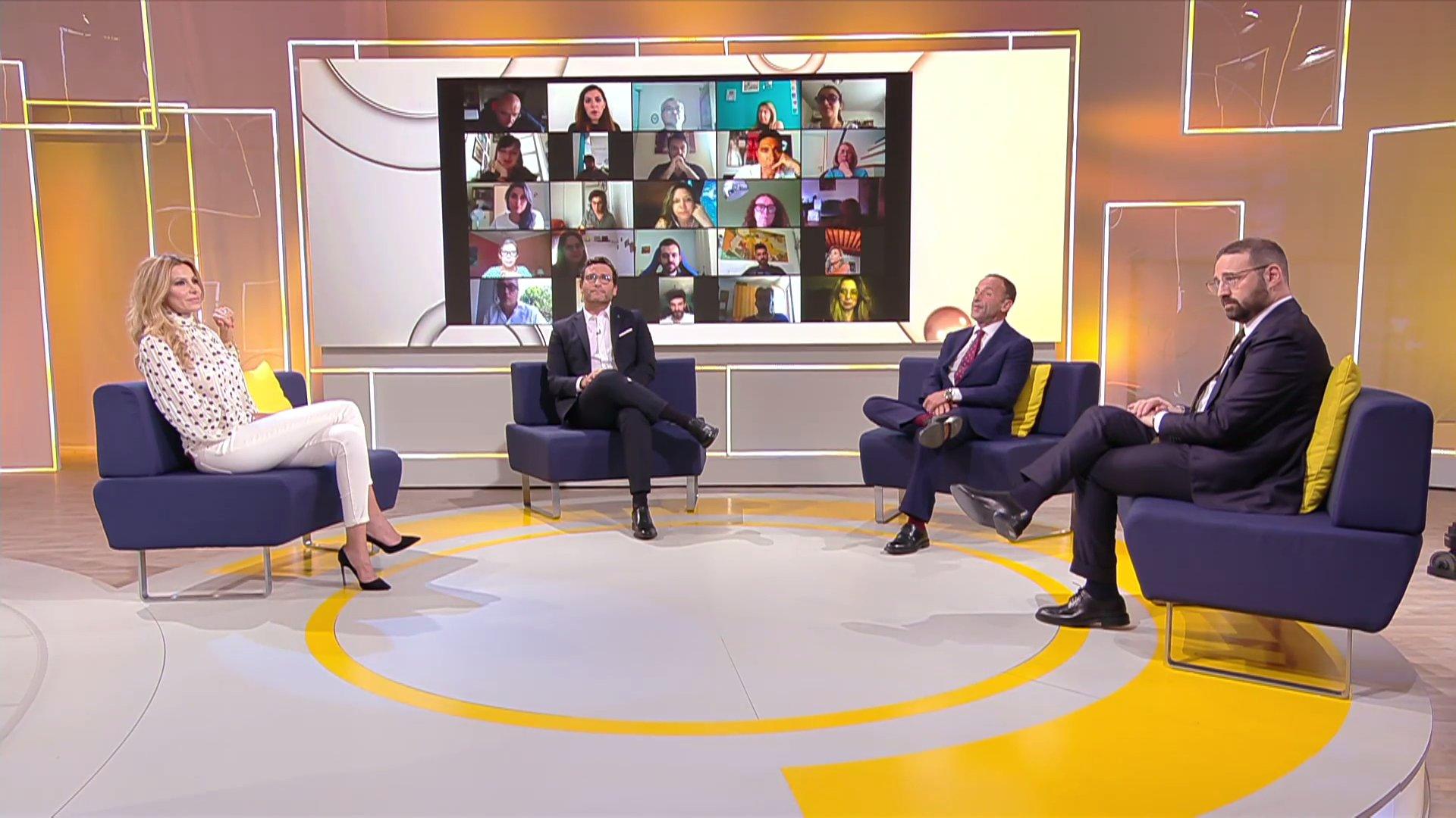 Ogni Mattina, il nuovo contenitore quotidiano TV8, con Alessio Viola e Adriana Volpe