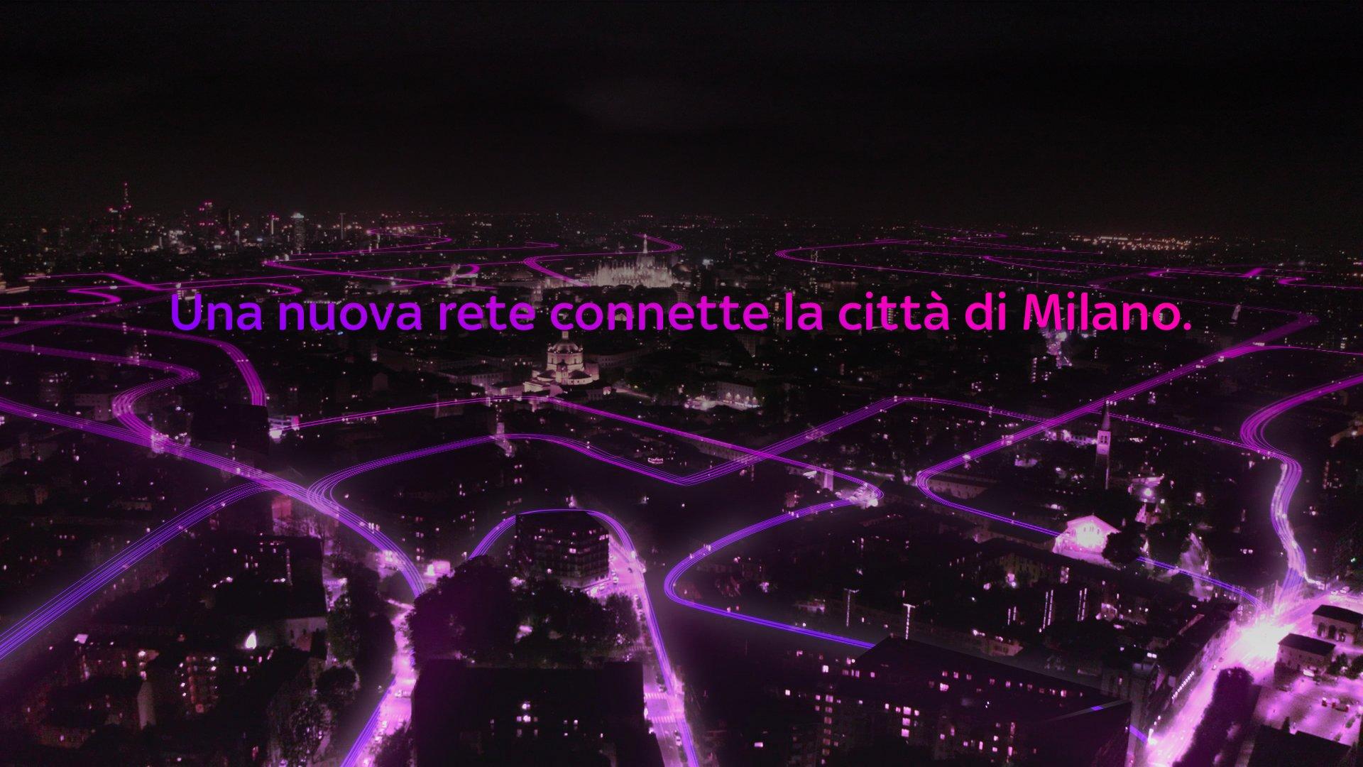 Sky WiFi omaggia Milano per raccontare il nuovo servizio ultra broadband