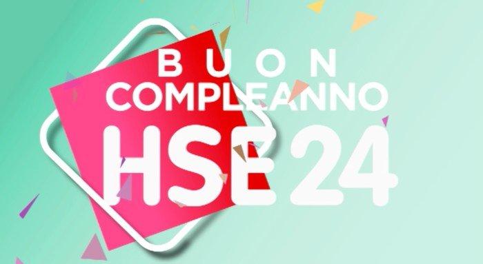HSE24 Italia festeggia 9 anni TV Shopping, 1° anniversario proprietà italiana