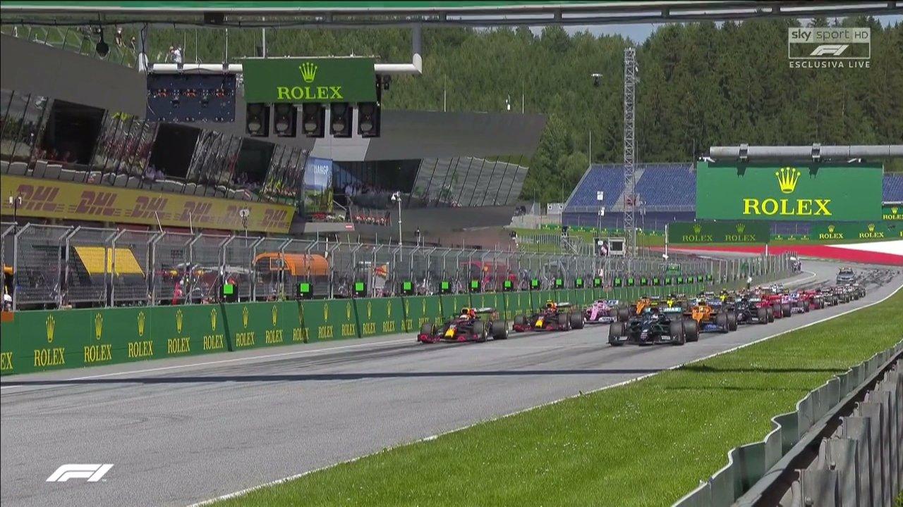 Grande Partenza per la Formula 1 2020 su Sky Sport e TV8