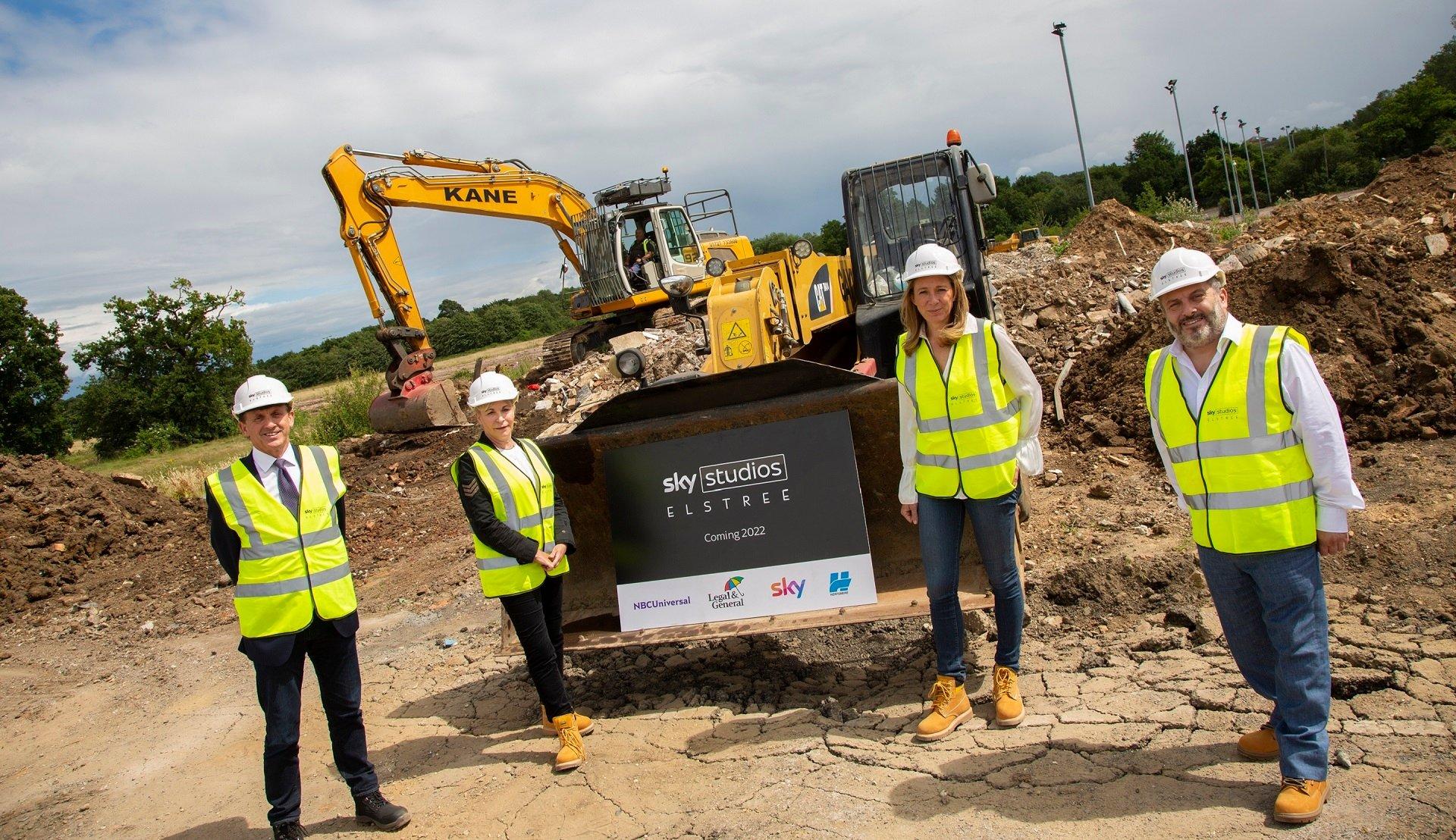 Sky Studios Elstree ottiene il via libera per iniziare le costruzioni
