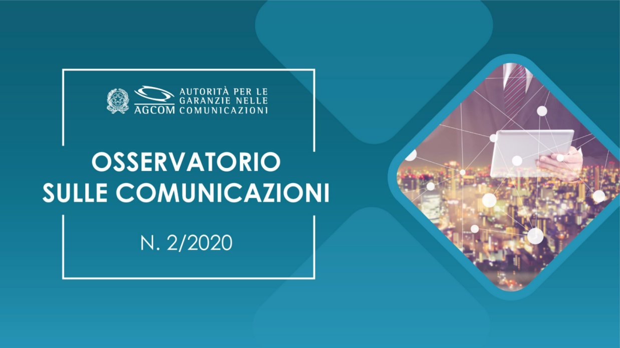 Agcom, a Marzo crescono Rai, Mediaset, Discovery su anno scorso