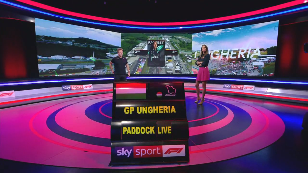 F1 Ungheria 2020, Gara, Diretta esclusiva Sky Sport, differita TV8