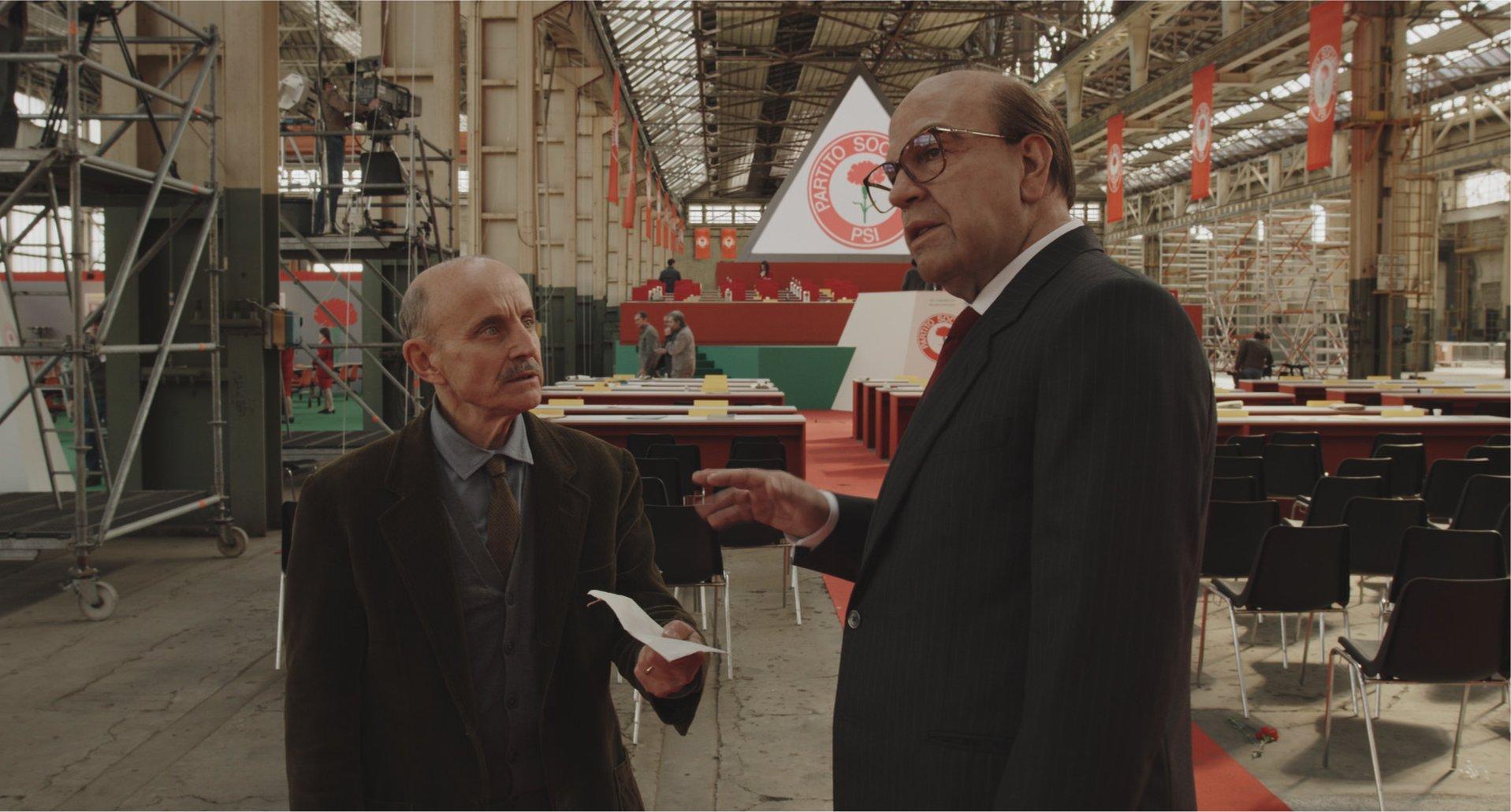 Hammamet, in prima tv su Sky Cinema Pierfrancesco Favino è Craxi