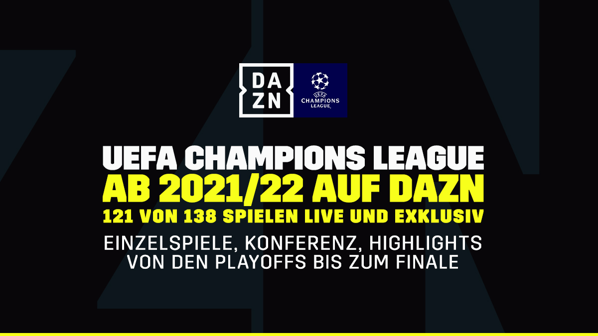UEFA Champions League in Germania, Austria e Svizzera su DAZN