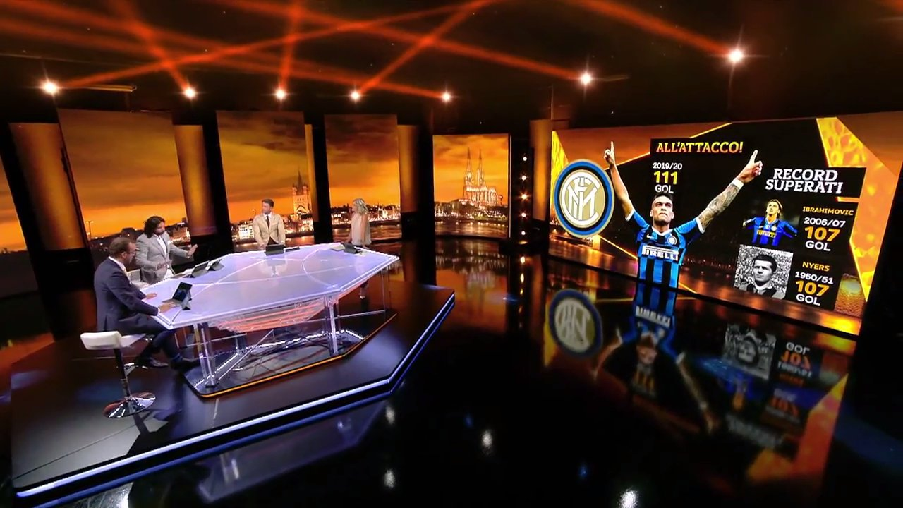 Inter-Shakhtar, record share Europa League Sky Sport. TV8 vince la serata ascolti