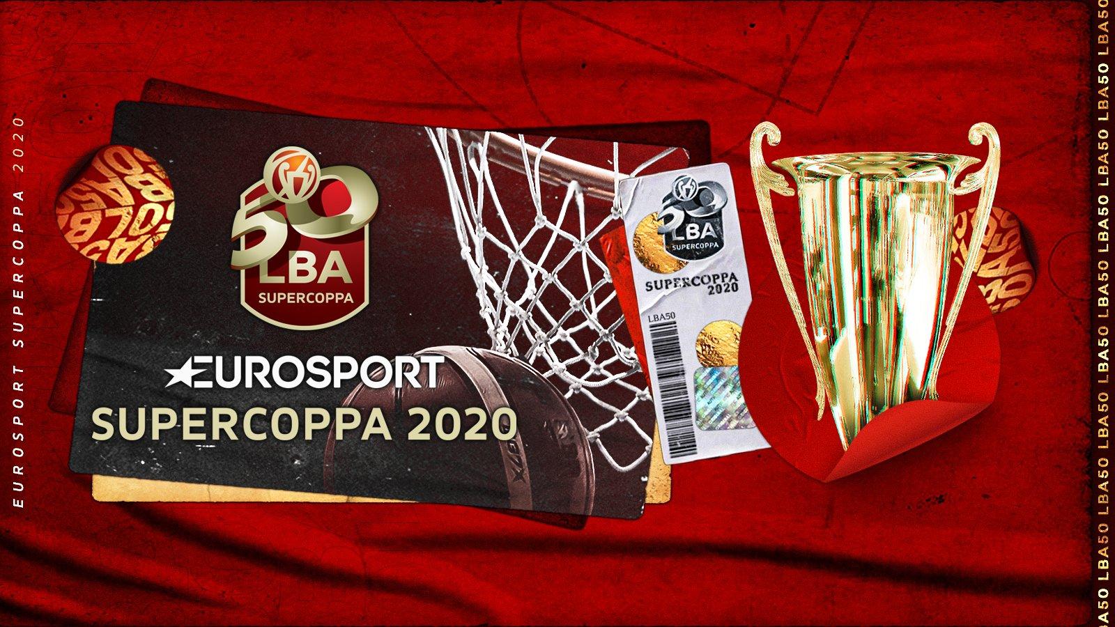 Partnership Discovery/Eurosport e LBA: finale SuperCoppa in chiaro sul NOVE