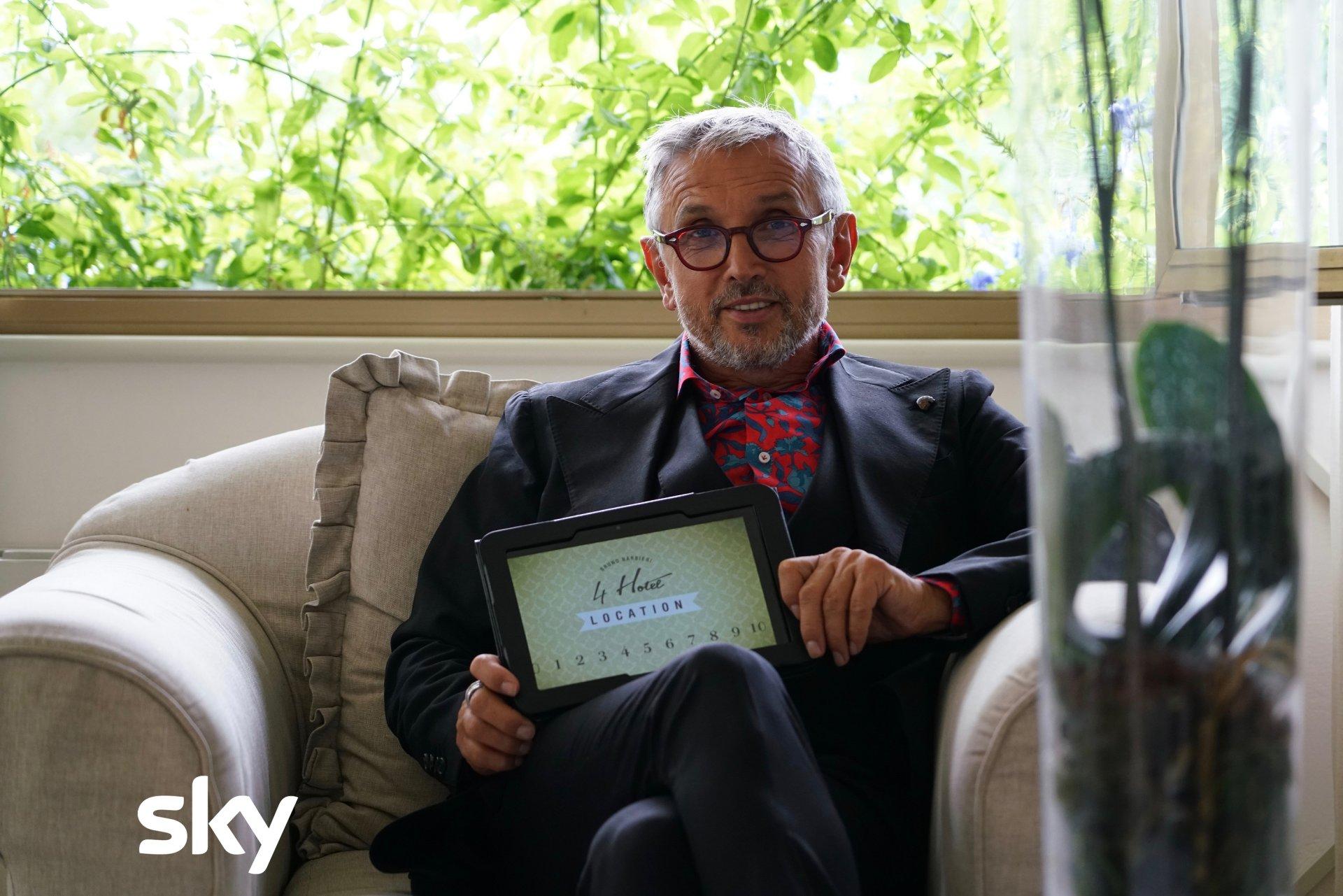 Bruno Barbieri 4 Hotel, ricomincia su Sky Uno il viaggio tra gli hotel italiani