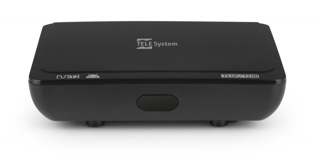 Telesystem Smart Box Android 9 + digitale terrestre DVB-T2 HEVC
