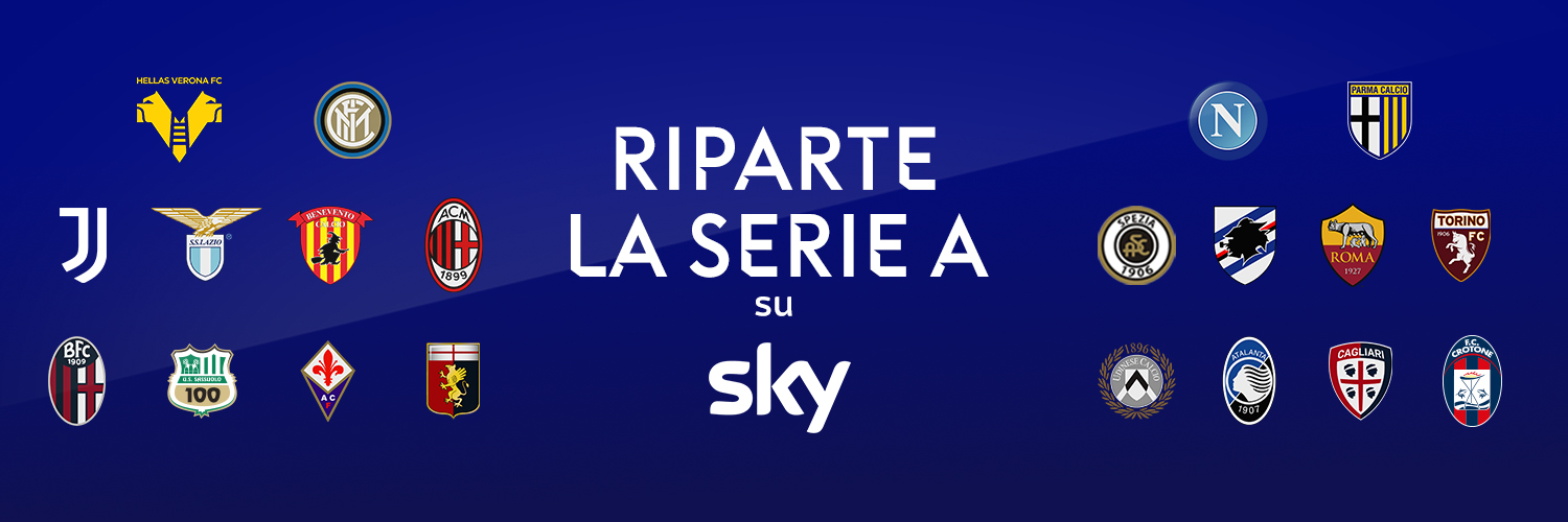 Serie A 2020/21 Sky, 7 partite in esclusiva ogni weekend (16 big-match su 20)