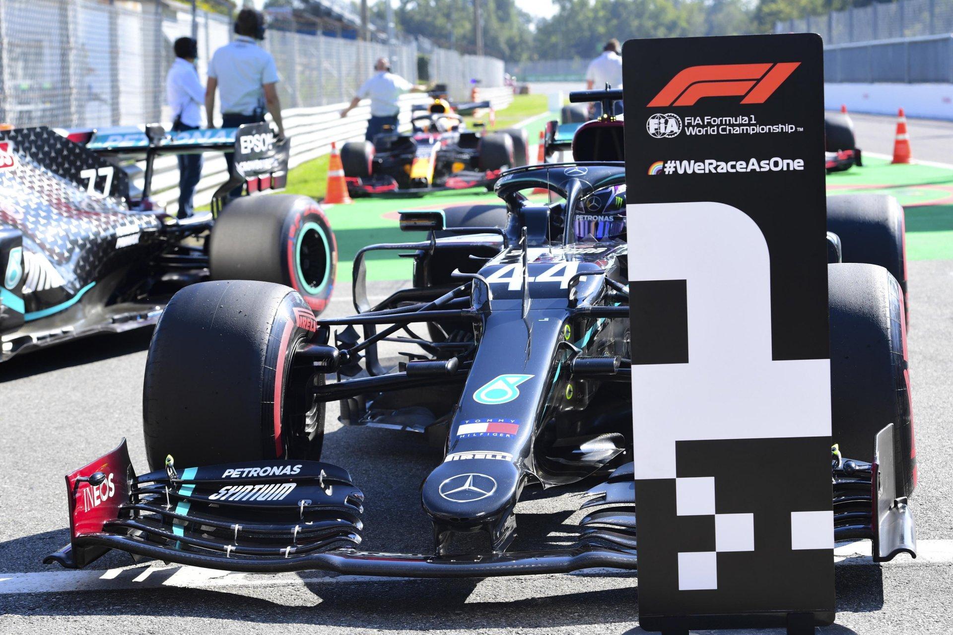 F1 Italia Monza 2020, Gara - Diretta Sky Sport, Live TV8