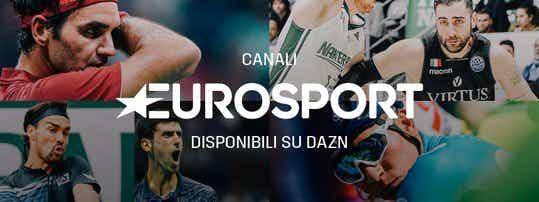 DAZN e Discovery rinnovano accordo per la distribuzione di EUROSPORT