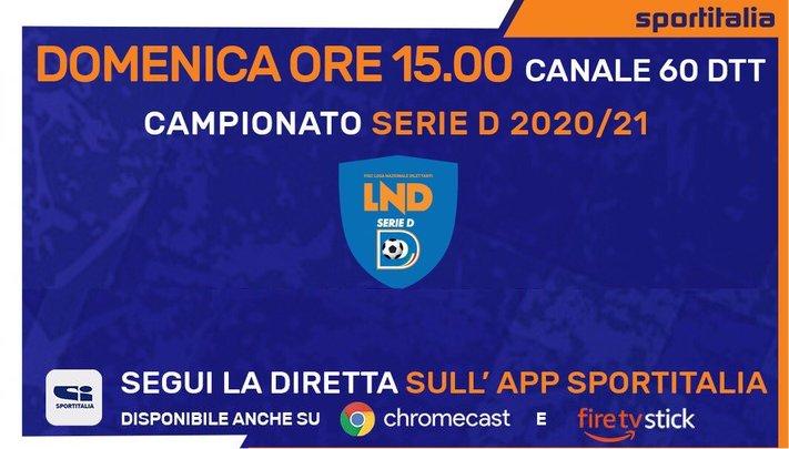 Serie D torna in TV,  prosegue accordo con Sportitalia. Domenica Savoia-Nocerina