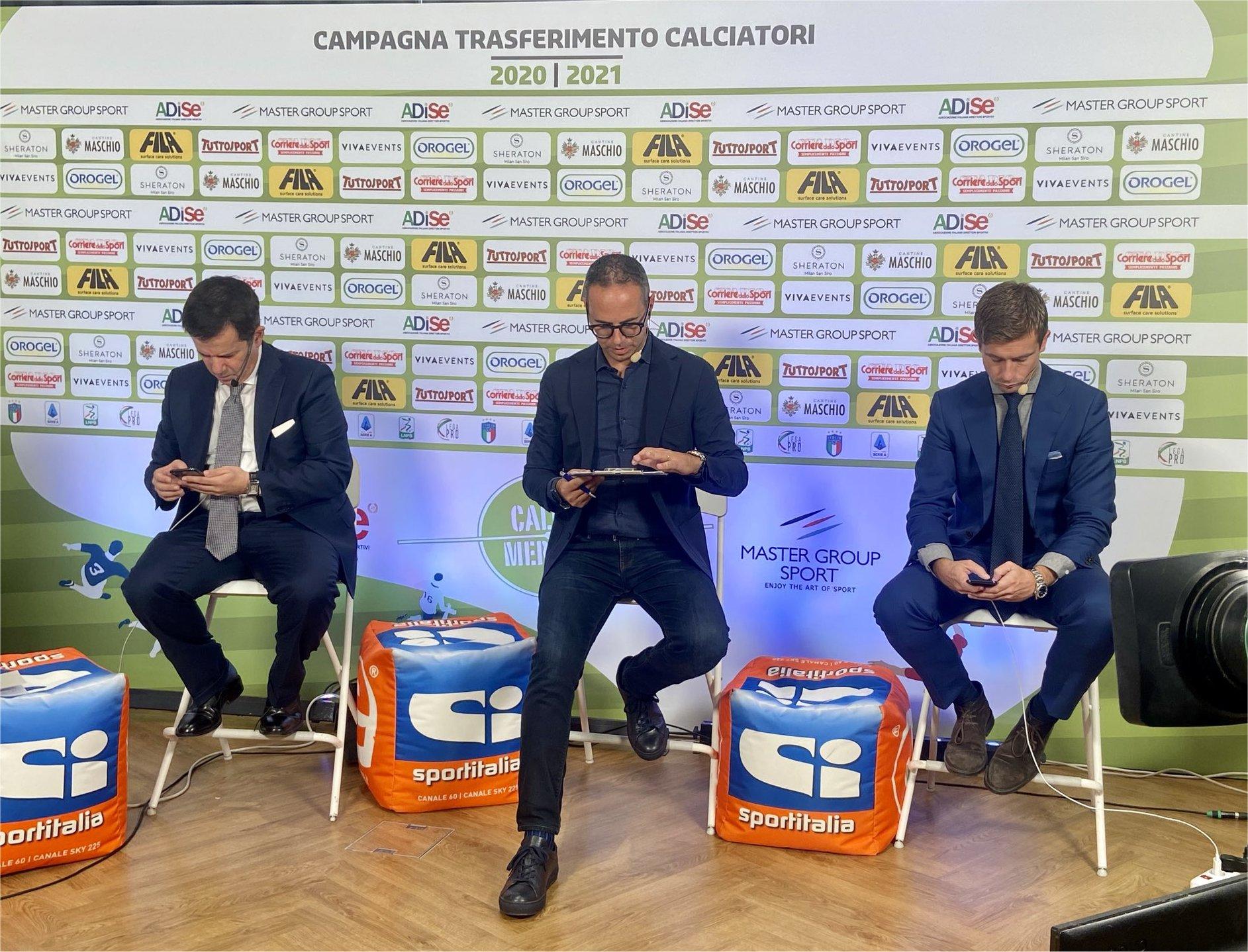 Sportitalia, fa il pieno di ascolti con la chiusura del CalcioMercato