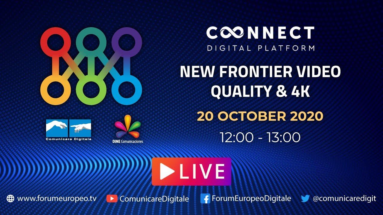 LIVE | New Frontier Video Quality & 4K Tech Talk. Diretta streaming Digital-News.it