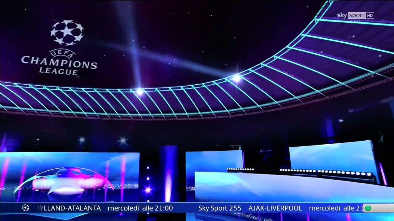 Ottimi ascolti per il ritorno delle Coppe Europee su Sky Sport